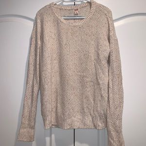 Cream Mossimo sweater